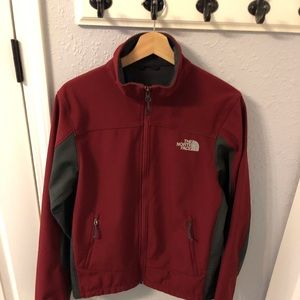 NORTH FACE Fleece lined raincoat. Size S